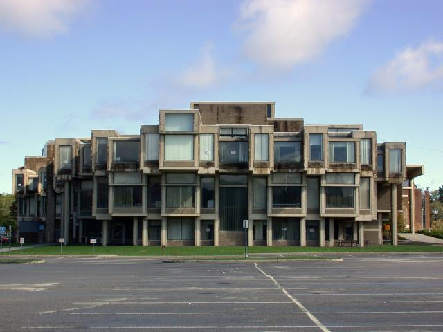 Paul Rudolph designed Orange County Government Center