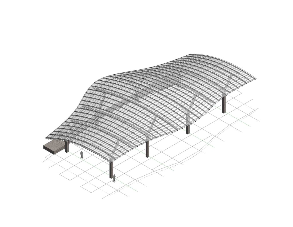 Opsis Architecture Canopy design for OSU