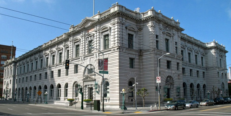 U.S. Post Office & Courthouse, 7th & Mission Streets, SF